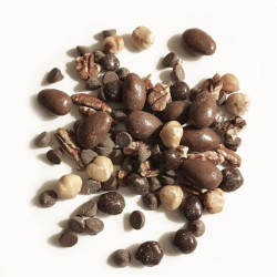 6 Bags of Dark Chocolate Espresso Bean Trail Mix