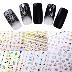 Holographic 3D Nail Sticker