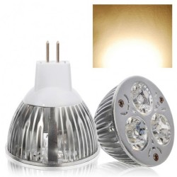 3W MR16 Warm White LED Spotlight Bulb