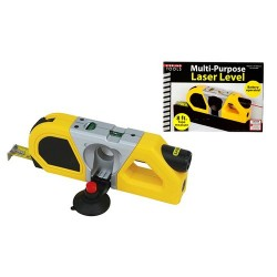 Sterling Tools Multi-Purpose Laser Level with 8ft Measuring...