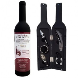 Home Innovations 5 Piece Wine Bottle Tool Set