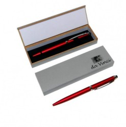da Vinci 2-in-1 Ballpoint Pen and Touchscreen Stylus with Gift...