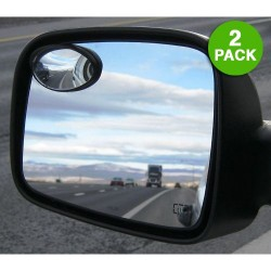 2-Pack: Oval Precision Blind Spot Mirrors